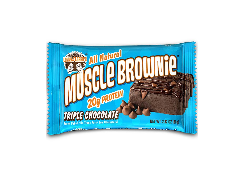 Lenny and Larry Muscle Brownie 80g exp. ztvrdlá
